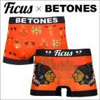 ビトーンズ BETONES ×FICUS CHIPEWA メンズ ボクサーパンツ