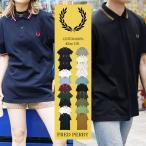 フレッドペリー ポロシャツ メンズ 半袖 ゴルフ ティップライン ブランド グレー ロゴ m3600 FRED PERRY