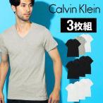 カルバンクライン Tシャツ メンズ Vネック 半袖 Calvi