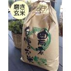 磨き玄米10kg 石川ファーム 自然栽培米 /無農薬