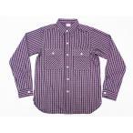 WAREHOUSE[ウエアハウス] ネルシャツ A柄 3095 フランネルシャツ FLANNEL SHIRTS (グリーン)