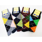 Dry Bones[ドライボーンズ] ソックス 靴下 アーガイル Argyle Socks DHH-059