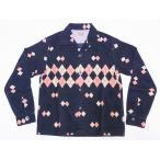 STYLE EYES[スタイルアイズ] オープンシャツ ARGYLE SE27427 長袖 CORDUROY SPORTS SHIRT (GRAY)