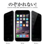 iPhone 4s 座 - (レビュー記入で送料無料 メール便発送) iPhone 6/6s / iPhone 6 Plus/6s Plus 覗き見防止 液晶保護ガラスフィルム (iPhone6 0.33mm 2.5D フィルム 強化ガラス)