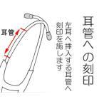 刻印(ネーム入れ):ケンツメディコ社製聴診器耳管部へ