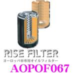 RISE FILTER AOPOF067 高品質ヨーロッパ車専用オイルフィルター