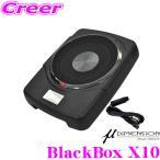 日本正規品 ミューディメンション μ-Dimension BlackBox X10 最大出力200Wアンプ内蔵25cm薄型パワードサブウーファー