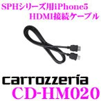 【在庫あり即納!!】カロッツェリア CD-HM020 アプリユニット用iPhone5 HDMI接続ケーブル