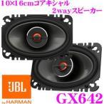 日本正規品 JBL GX642 10×16cmコアキシャル2wayスピーカー