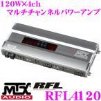 日本正規品 MTX Audio RFL4120 120W×4chパワーアンプ