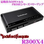 日本正規品 ロックフォード RockfordFosgate PRIME R300X4 定格出力50W×4chパワーアンプ