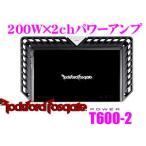 ロックフォード RockfordFosgate POWER T600-2 200W×2chパワーアンプ
