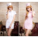 ショッピングハロウィン ナース服 ハロウィン コスプレ ナース 看護師 制服 コスチューム 衣装 仮装 ピンク 白 かわいい おしゃれ セクシー