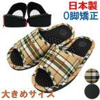 《日本製》O脚防止サンダル 紳士サイズ(〜約26.5cmまで) 《国産 健康 足つぼ サンダル》