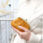がま口財布 コインケース 小銭入れ 本革 牛革 日本製
