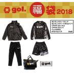 ショッピングウエア 【予約商品】gol.ゴル 2018年 フットサルウエア福袋 計6点 G728-709-BLK