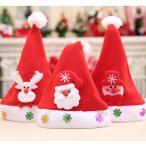 クリスマス サンタの帽子 赤ちゃん ベビー 幼児 キッズ 立体デザイン ふわふわタイプ