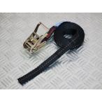 ラチェット式ブラックベルト荷締め機 エンドレス0.8ton 幅25mm×長さ4m
