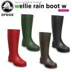 ����å���(crocs) ����� �쥤��֡��� ������� (wellie rain boot w)[C/C]