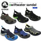 ショッピングサボ クロックス(crocs) スウィフトウォーター サンダル(swiftwater sandal) /メンズ/男性用/サンダル/シューズ/