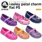 クロックス(crocs) キーリー ペタル チャーム フラット PS (keeley petal charm flat PS)