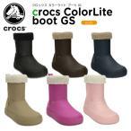 クロックス crocs クロックス カラーライト ブーツ GS  crocs ColorLite boot GS [C/B]