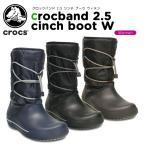 クロックス(crocs) クロックバンド 2.5 シンチ ブーツ ウィメン (crocband 2.5 cinch boot w)