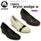 ショッピングクロックス レディース クロックス(crocs) クロックス ブリン ウェッジ ウィメン (crocs brynn wedge w) /レディース/女性用/ヒール/シューズ[H][C/B]
