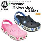 クロックス(crocs) クロックバンド ミッキー クロッグ 4.0 キッズ (crocband Mickey clog 4.0 kids) ディズニー/キッズ/サンダル/シューズ/子供用