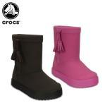 クロックス crocs ロッジポイント ブーツ キッズ lodgepoint boot kids  [C/B]