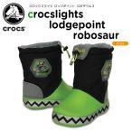 クロックス(crocs) クロックスライツ ロッジポイント ロボザウルス(crocslights lodgepoint robosaur)