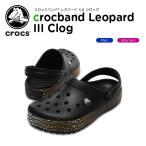 ショッピングcrocband クロックス(crocs) クロックバンド レオパード 3.0 クロッグ(crocband leopard 3.0 clog) /メンズ/レディース/男性用/女性用/サンダル/シューズ/[C/B]