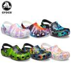 クロックス crocs クラシック タイ ダイ グラフィック クロッグ classic tie dye graphic clog メンズ レディース 男性用 女性用 サンダル シューズ[C/B][H]