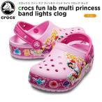 クロックス crocs クロックス ファン ラブ プリンセス バンド ライツ クロッグ キッズ(crocs fun lab Princess band lights clog kids ) サンダル 子供用[C/A]