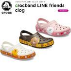 クロックス crocs クロックバンド LINE フレンズ クロッグ crocband LINE friends clog レディース 女性用 サンダル シューズ[C/B]