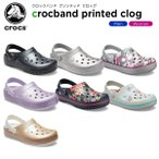 クロックス crocs クロックバンド プリンテッド クロッグ crocband printed clog メンズ レディース 男性用 女性用 サンダル シューズ[C/B][H]