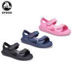 クロックス crocs スウィフトウォーター エクスペディション サンダル キッズ swiftwater expedition sandal kids[C/A]