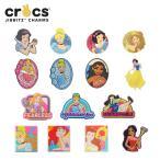 ショッピングジビッツ ジビッツ(jibbitz) ディズニー プリンセス (Disney Princess) 白雪姫/シンデレラ/アリエル/他 [RED]