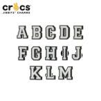 ジビッツ jibbitz レター letter A-M クロックス シューズアクセサリー イニシャル アルファベット[SKY][C/A-2]