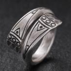 戒指 - カレン シルバー リング カレン族 指輪 メンズ レディース a07-49