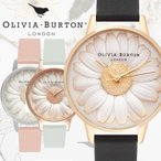 オリビアバートン OLIVIA BURTON フラワーショー FLOWER SHOW 3D デイジー クオーツ 花 フラワー ステンレス レザー 腕時計 時計 レディース