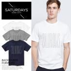サマーセール!SATURDAYS SURF NYC サタデーズサーフ ニューヨーク Tシャツ FORWARD バックワーズフォワード メンズ 半袖