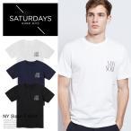 サマーセール!SATURDAYS SURF NYC サタデーズサーフ ニューヨーク Tシャツ SLASH スラッシュ メンズ 半袖