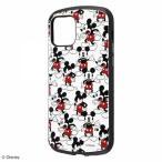 iPhone 12/12Pro 耐衝撃ケース ディズニー ミッキーマウス ハードカバー 衝撃吸収ストラップホール キャラ かわいい IN-DP27AC4-MKB1