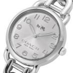 ショッピングコーチ コーチ COACH クオーツ 腕時計デランシーシルバ− ブレスレットウォッチ チェーンレディース14502259