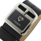 ショッピングコーチ コーチ COACH ダッフルバックル DUFFLE BUCKLE クオーツ レディース 腕時計 14502324 ブラック