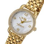 ショッピングコーチ コーチ COACH デランシー クオーツ レディース 腕時計 14502478 ホワイトパール