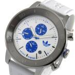 アディダス ADIDAS マンチェスター クオーツ メンズ 腕時計 ADH3098 ホワイト