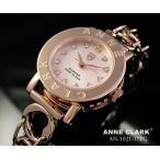 ANNE CLARK レディース アナログ ピンク/金
