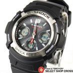 腕時計 G-SHOCK Gショック メンズ 人気 電波 ソーラー アナデジ AWG-M100-1ADR ブラック 黒